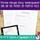 Christmas in Puerto Rico Webquest