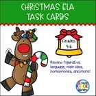 Christmas Language Arts Trivia Task Cards