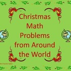 Christmas math problems from around the world