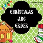 Christmas-themed ABC Order