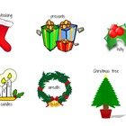 Christmas/Holiday Sight Word Cards