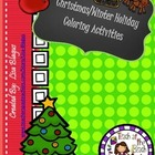 Christmas/Winter/Holiday Math Coloring Sheets Bundle/Variety Pack