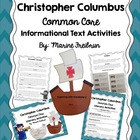 Christopher Columbus Common Core Informational Text Activities