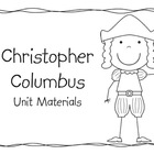 Christopher Columbus Unit Materials