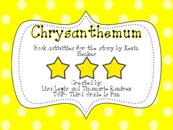 Chrysanthemum (book activities for the story by Kevin Henkes}