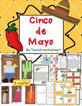 Cinco de Mayo Crafts and Printables (5 crafts!)