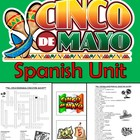 Cinco de Mayo Spanish Unit - 33 total pages!