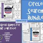 Circle Search Bundle {Circle Search Circumference AND Area