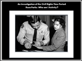 Civil Rights Movement Activity:  Rosa Parks/Bus Boycott Te