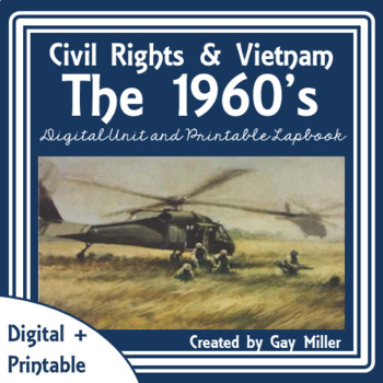 Civil Rights and Vietnam War Lap Book