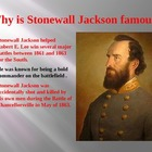 Civil War: The Death of Stonewall Jackson PowerPoint Presentation