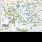 Civilizations of Crete and Mycenae Map
