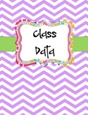 Class Data Binder Cover