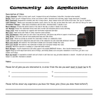 Class Job Application and Labels - Rockstar!