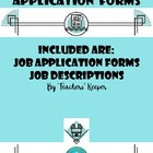 Class Job Applications