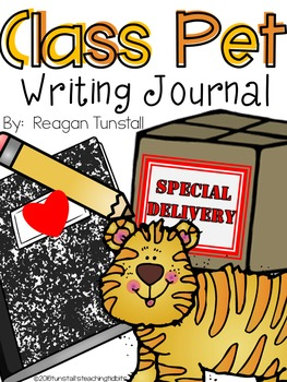 Class Pet Writing Journal