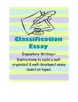 Book Classification Essay