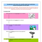 Classification of Living Things learning goals - Study Guide