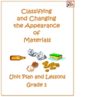 Classifying and Changing the Appearance of Materials Scien