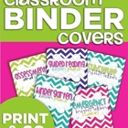Classroom Binder Covers