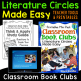 Classroom Book Clubs: Literature Circles Made Easy (Digita