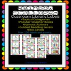 Classroom Chapter Book Basket Labels