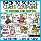 Classroom Reward Coupons-50+ Coupons to Reward and Inspire