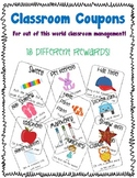 Classroom Coupons {Elementary Grades}
