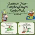 Classroom Decor-Everything Dragon Combo-Pack!