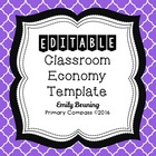 Classroom Economy Money Template