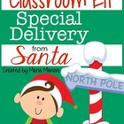 Classroom Elf Special Delivery From Santa Printable FREEBIE