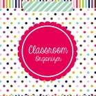 Classroom Forms and More (Organizer -Happy Day) Editable