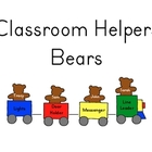 Classroom Helper Jobs - Bears and Trains