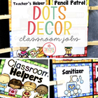 Classroom Helper Pocket Chart {Editable}
