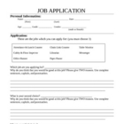 Classroom Job Application - Intermediate