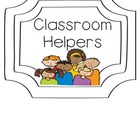 Classroom Job Labels {Use with Clothes Pins!}