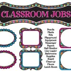 Classroom Jobs - Fun Theme (Classroom Management) Leaders