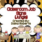 Classroom Jobs {Jungle}