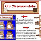 Classroom Leaders Job Cards Camping Theme