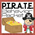 Classroom Management Behavior Pack- Pirate Theme