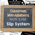 Classroom Management Made Easy: Homework, Exit, Apology, &