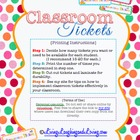 Classroom Management Ticket System