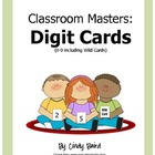 Classroom Masters: Digit Cards