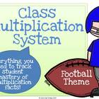 Classroom Multiplication System (Football)