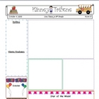 Classroom News Letter Template