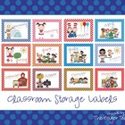 Classroom Organization Storage Labels (Months of the Year)
