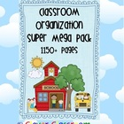 Classroom Organization Super Mega Pack 1150+ pages