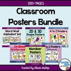 Classroom Posters Bundle