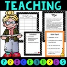 Classroom Procedures - Customize to Your Class!
