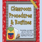 Classroom Procedures and Routines (Perfect for the beginni